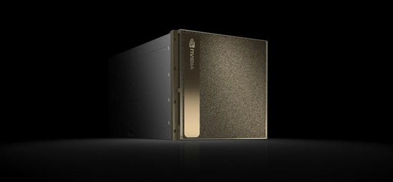 Ilyen számítógépet még nem látott: 16 videókártya van benne, 97 millió forintba kerül az Nvidia DGX-2