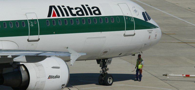 A csőd szélére jutott az Alitalia