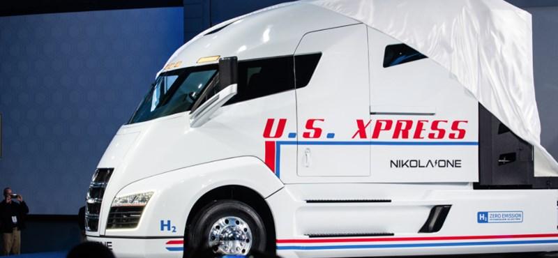 Mutatjuk az elképesztő elektromos kamion luxusbelterét