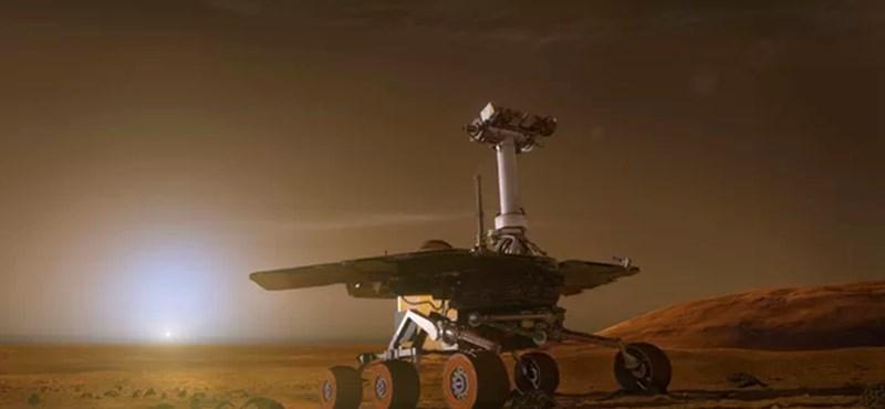 Még mindig nincs hír a bajba került Mars-járóról, de állítólag van remény