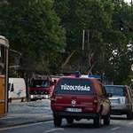 Fotók: csőtörés a Szent Gellért térnél (videóval)