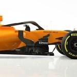 Retinaszaggató narancs-kék lett a Honda-mentesített új McLaren F1-autó