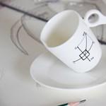 Izgalmas reggeli kávéscsésze
