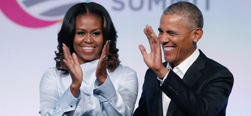 Filmezni kezd az Obama-házaspár