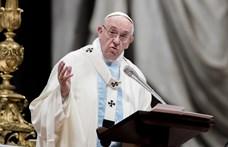 Adventi beszéd: testvériséget sürgetett Ferenc pápa