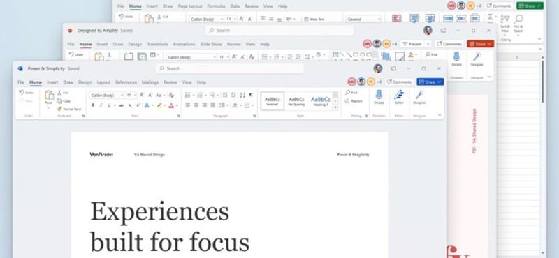 Microsoft Office ha sido renovado, dando a los programas un nuevo aspecto.