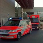 Lövöldözés a frankfurti repülőtéren - a támadó lőfegyvert használt