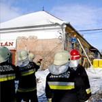 Leszakadt egy épületsor homlokzata a belvárosban