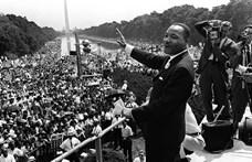 """""""Van egy álmom"""" – ma lenne 90 éves Martin Luther King"""