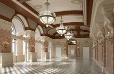 Így fog kinézni az újra felépített József főhercegi palota a budai Várban