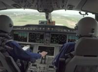 Több pilóta is azonosítatlan, fényes repülő tárgyat látott