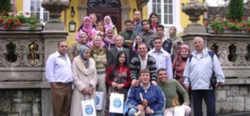 Újra egyiptomi diákok érkeztek az EKF-re
