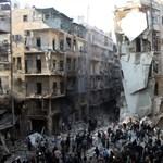 A szír ellenzékiek hadműveletet indítottak Aleppónál