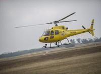 Szolgálatba állnak a magyar nem mentőhelikopter mentőhelikopterek