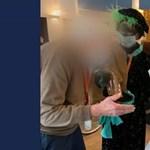 Koronavírusos Mikulás látogatott meg egy idősotthont Belgiumban, 75-en fertőződtek meg