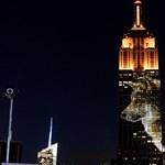 Videó: Látványos, de szomorú fényjátékban úszott az Empire State Building szombaton