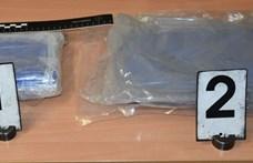 Két és fél kilogramm kokain volt egy Pécsen balesetet szenvedő motoros hátizsákjában