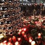 Menekültek vittek virágot a berlini vásárhoz - fotók