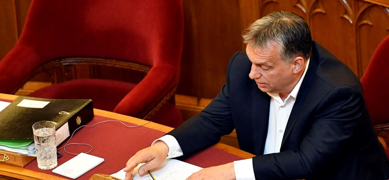Ezt mondta Orbán a lex CEU megszavazása után