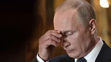 Putyin pártja már csak 15 százalékon áll Moszkvában
