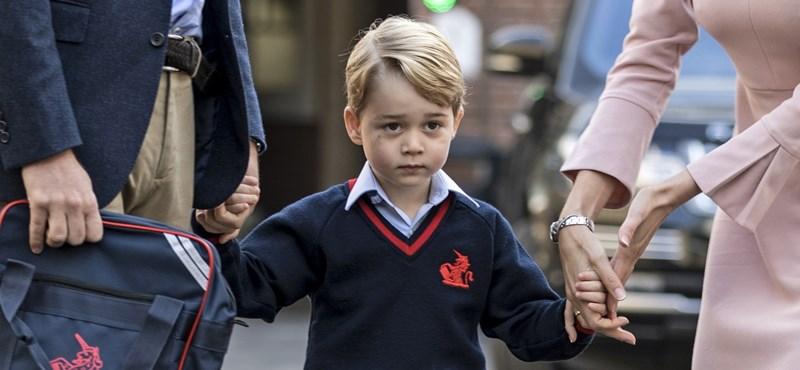 Hát, ez nem jött be: György herceg utálja az iskolát