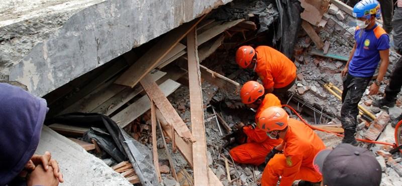 Nem tudnak magyar sérültről az indonéziai földrengés után