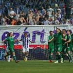 Döntetlen lett a Fradi-Újpest meccs