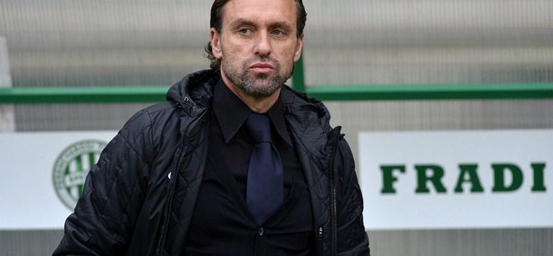 Kibukott Bernd Storckra a Fradi edzője