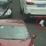 Videó: 2 éves kislány felett hajtott át két terepjáró, de happy end lett a vége
