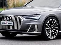 Gigantikus hűtőrács az Audi Maybachra adott válaszán, a Horch luxusautón