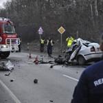Fotókon a gödöllői halálos buszbaleset helyszíne