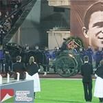A magyar legendára emlékeztek Madridban
