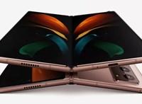 Ez így már erőgép: izmos összecsukható mobilt hoz a Samsung, íme a Galaxy Z Fold 2