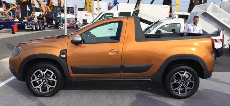 Jól néz ki és olcsó is lehet a Dacia Duster pickup