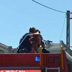 Mesterlövészek mentek ki egy lángoló garázshoz Tiszafüreden