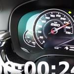 Kihajtották a végsebességet a BMW M5 Competition változatából – videó