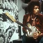 Sosem látott felvételek kerültek elő Jimi Hendrixről