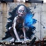 Street art percek: SmugOne legendás filmhősei