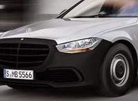 Így mutatna a lemezfelnis fapados új Mercedes S-osztály