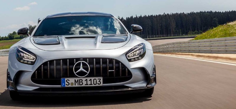 Rekorderős biturbó V8: itt a Mercedes-AMG GT Black Series