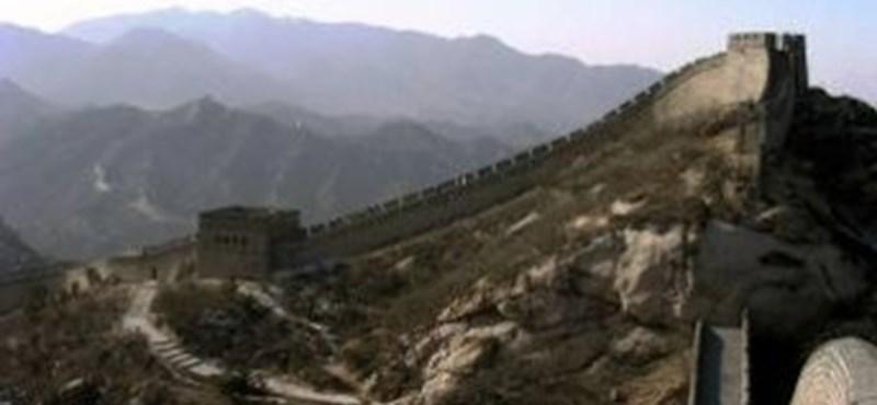 Aranyat keresett a kínai nagy Falban, börtönbe került