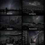 Ilyen gyönyörűek lennének a városok, ha nem lenne este világítás