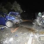 Halálos baleset történt a 2-es úton