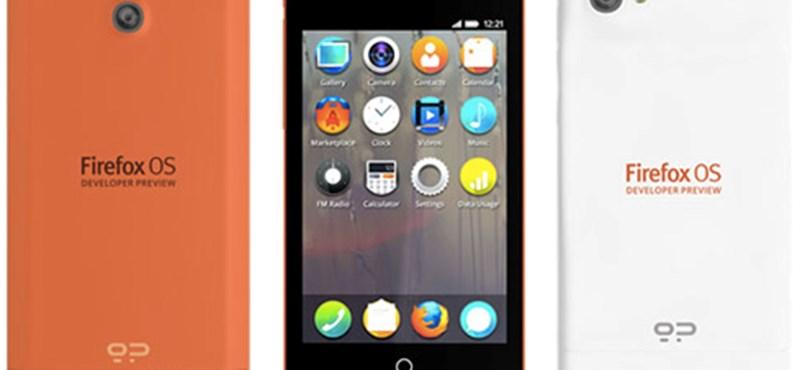 Íme az első Firefox mobilok