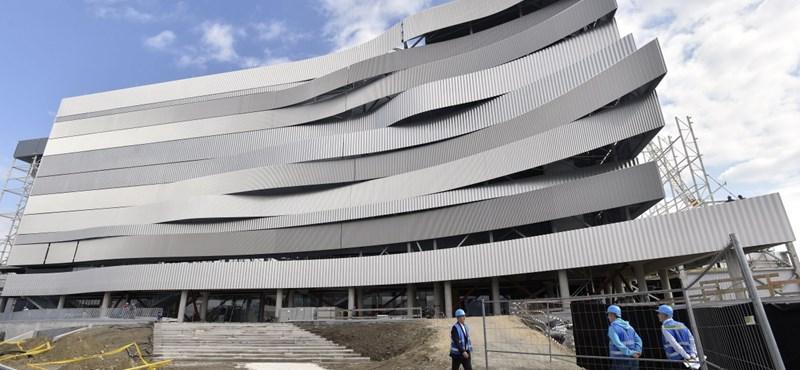 Gyárfás székházát 28 millióért újították fel a vébészervezők