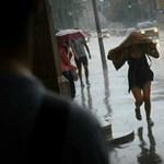 Borús, esős idő jön, de legalább nem lesz hideg