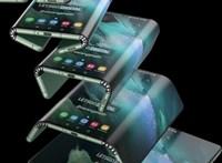 Újabb izgalmas ötlete van a Samsungnak: hogyan hajtsunk három részbe egy telefont?
