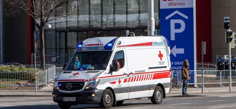 Megkéselt egy ápolót egy koronavírusos beteg Bécsben