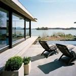 Luxuskocka az óceán partján - svéd tervezők munkája (fotókkal)