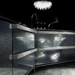 Elképesztő luxuskonyha! Kristályokkal díszített munkapult